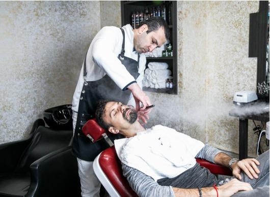 haircut and grooming Brooklyn barbershop