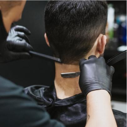 getting a haircut Brooklyn barbershop