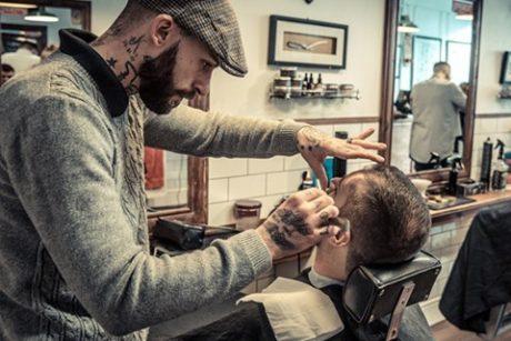 Man getting a quality haircut Brooklyn
